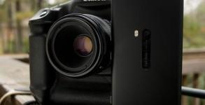 Comparatif telephone Nokia Lumia 920 reflex numerique Canon 1DX