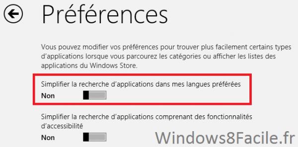 Surface: Accéder au Windows Store «complet»