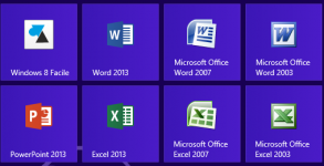 Windows8 compatible Office 2003 2007 2010 2013