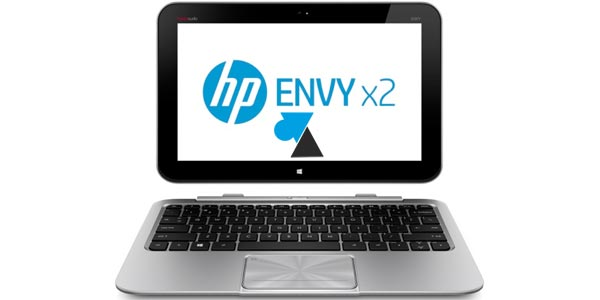Test ordinateur hybride HP Envy x2