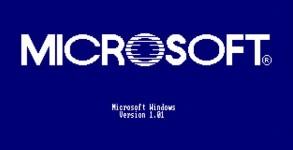 publicite Microsoft Windows v1 win95 win98 winme NT4