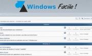 Section «conseils d'achats» sur le forum Windows Facile