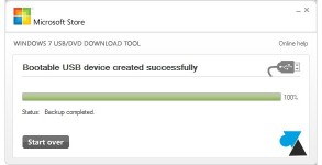 tutoriel cle usb installer Windows 2012 R2 2008