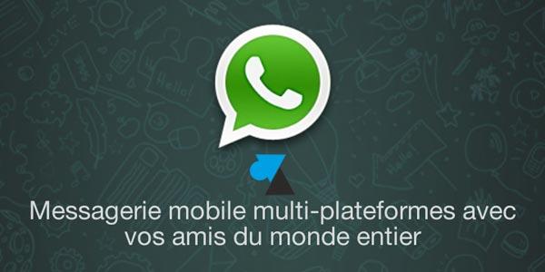 WhatsApp : comparatif Android et Windows Phone