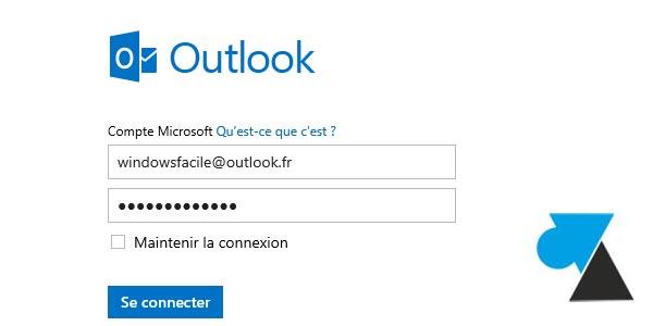 Créer une adresse mail Outlook / un compte Microsoft pour Windows