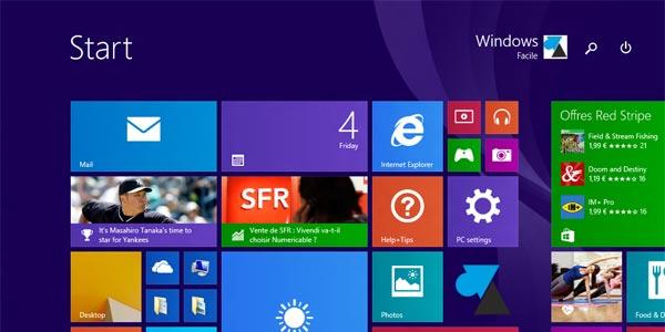 Test de Windows 8.1 Update 1