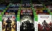 Plus de 100 jeux Xbox 360 compatibles Xbox One