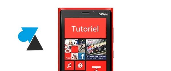 tutoriel smartphone Windows Phone 8 W8F