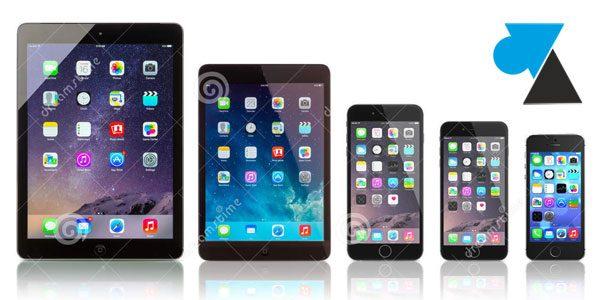 iPhone : supprimer le son «clic» du clavier