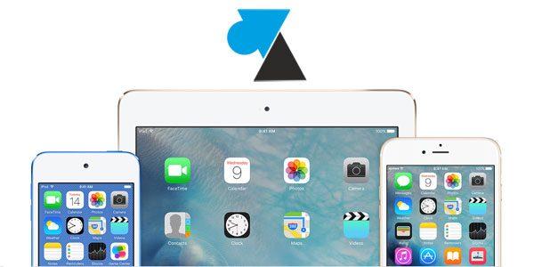 iPhone et iPad : afficher le pourcentage de batterie