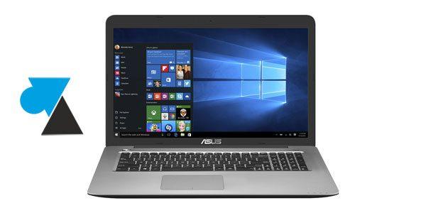 Installer Windows 10 sur un ordinateur Asus acheté avec un autre Windows
