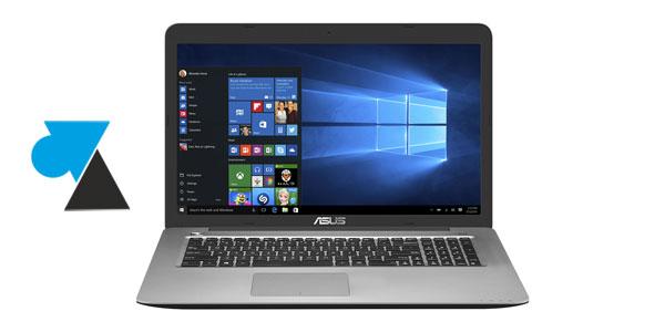 photo laptop Asus ordinateur portable W8F