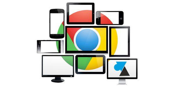 Changer la langue du navigateur Google Chrome