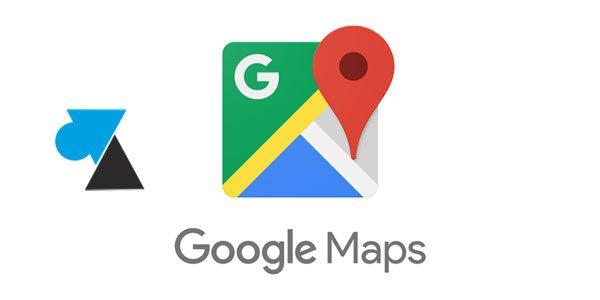 Google Maps : afficher le compteur de vitesse