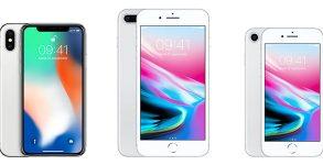 photo iPhone X 8 Plus comparatif