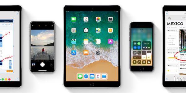 Nouveautés et mise à jour iOS11 pour iPhone et iPad