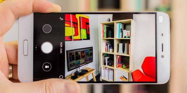 Xiaomi MiUi 12 : utiliser le bouton de volume pour prendre une photo