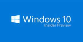 tutoriel Windows 10 Insider Preview