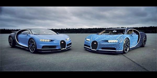 photo Bugatti Chiron Lego Technic