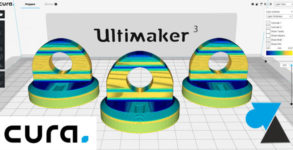 WF Cura Ultimaker 3D