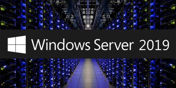 Installer Windows Server 2019