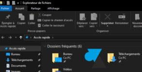 tutoriel Windows 10 activer theme foncé noir dark mode black