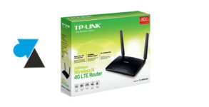routeur 4G TPLink TL-MR6400