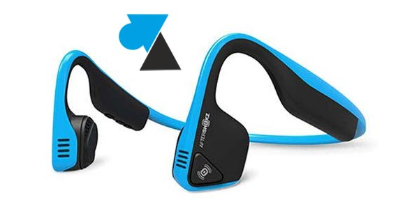 casque AfterShokz Bluetooth tutoriel facile