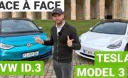 Comparatif Tesla Model 3 vs Volkswagen ID.3