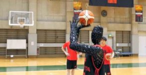 robot toyota basket