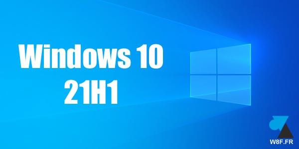 Créer une clé USB d'installation de Windows 10 21H1 (Mai 2021)