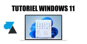 WF tutoriel Windows 11 W11