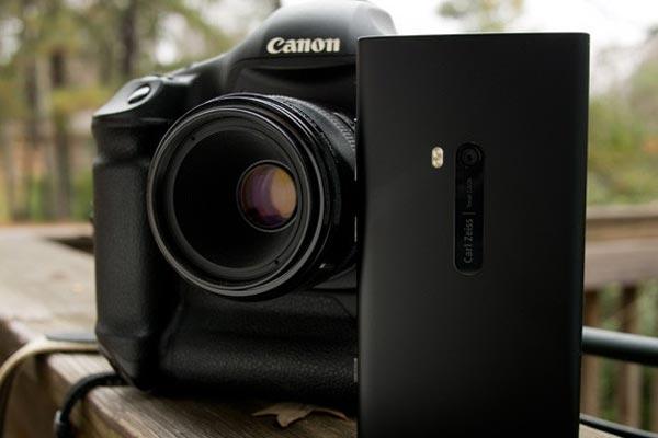 Comparaison de l'appareil photo du Nokia Lumia 920 et d'un réflex Canon