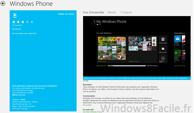 Windows Phone market