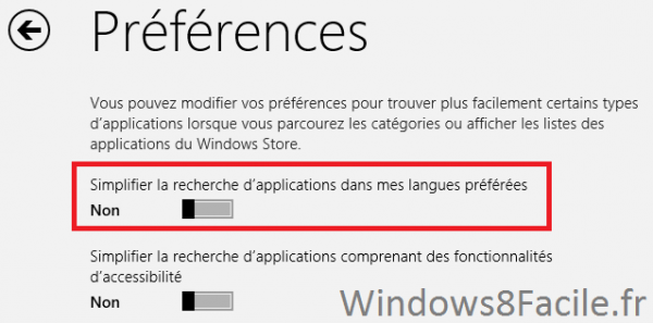 Surface: Accéder au Windows Store « complet »