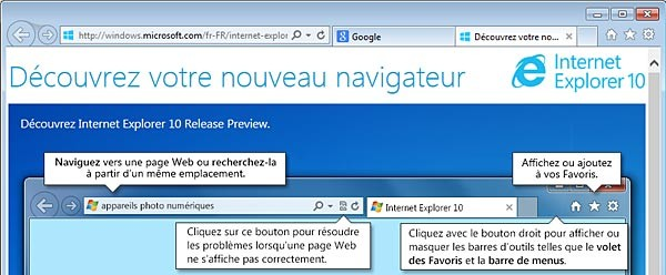 Essayer Internet Explorer 10 sur Windows 7