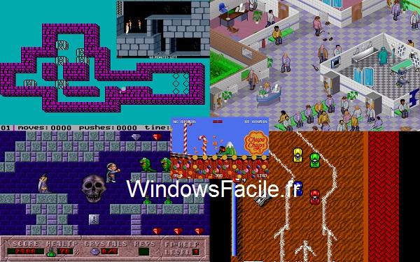 Windows 8 : jeux DOS