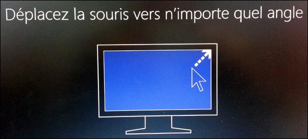 Windows 8 : afficher la barre des charmes (menu de droite)
