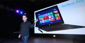 tablette Microsoft Surface Pro presentation show