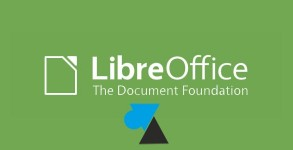 W8F LibreOffice logo suite bureautique gratuit