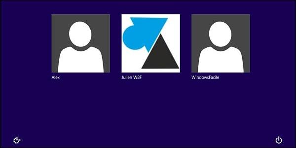 Basculer entre plusieurs comptes Windows 8