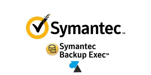 Symantec Backup Exec : modifier le compte de connexion