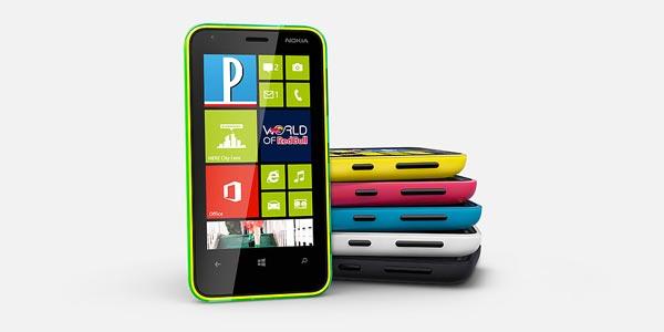 Test du Nokia Lumia 620