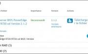 Mettre à jour Bios et Firmware sur un serveur Dell