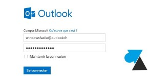 webmail compte Microsoft Outlook.com Hotmail MSN