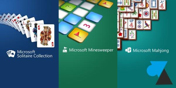 Installer Solitaire, Démineur et Mahjong sur Windows Phone 8