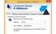 Enregistrer les paramètres d'une connexion Bureau à distance