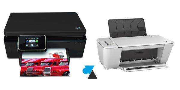 Télécharger le pilote d'une imprimante HP