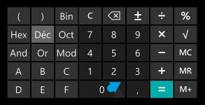 Nokia Lumia Windows Phone 8 calculatrice scientifique