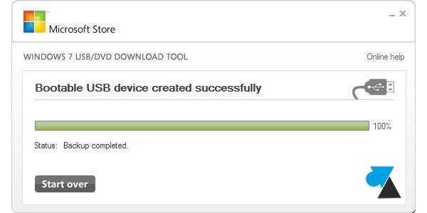 Créer une clé USB pour installer Windows 10